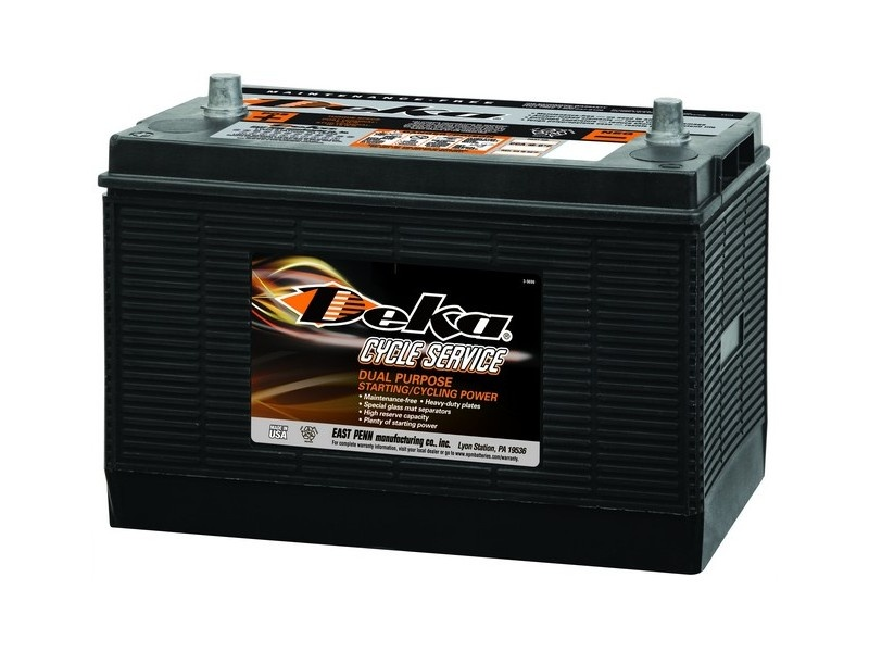 Deka Commercial Batteries 7T31P 140А/ч