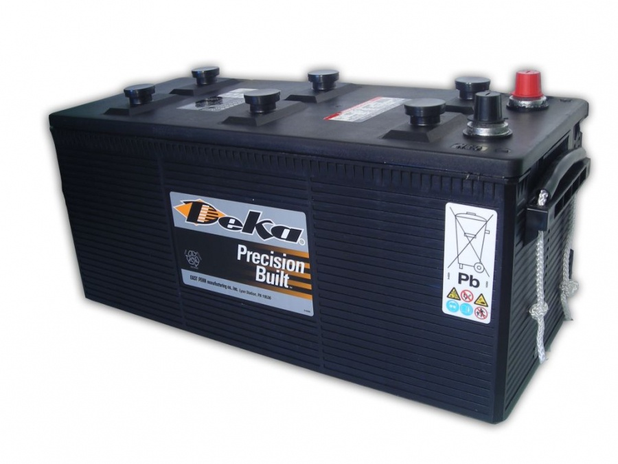 Deka Commercial Batteries 904 D 190А/ч